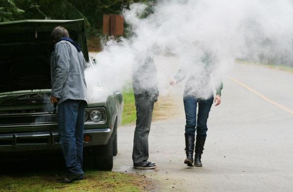 Engine Smoking